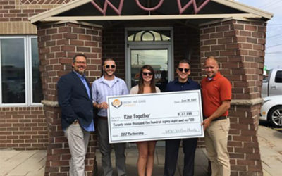 WOW – WE CARE CHARITY, INC. Donates $27,588 to Rise Together