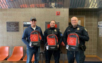 WWCC Funds Reach-A-Child Bags in Chippewa Falls, WI